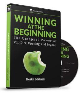 Winning at the Beginning